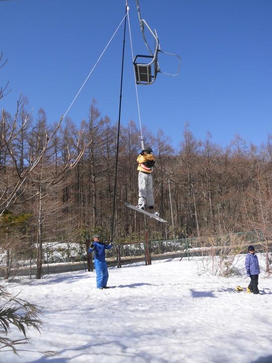 リフトが停まった|あだたら高原スキー場のクチコミ画像2