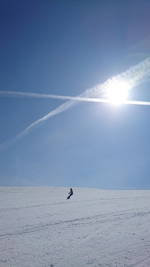 ゆったり幅広ゲレンデ!|北信州 木島平スキー場のクチコミ画像