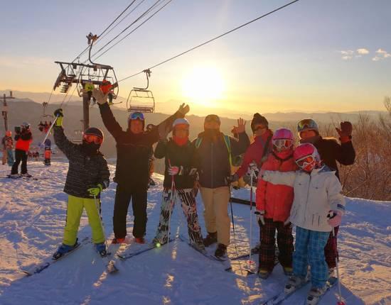 初日の出を見ながら絶景白馬!|白馬八方尾根スキー場のクチコミ画像
