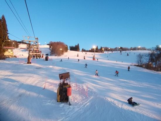 早朝最高!|鷲ヶ岳スキー場のクチコミ画像