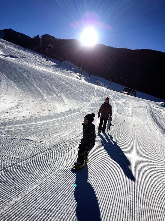 親子の日差し|丸沼高原スキー場のクチコミ画像
