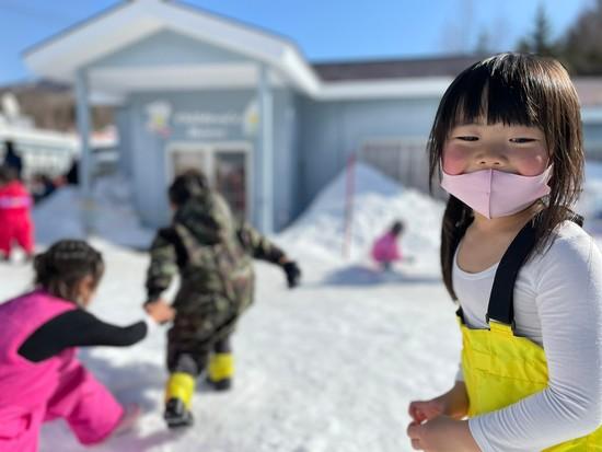 暖冬で暑いゲレンデ|ハンターマウンテン塩原のクチコミ画像