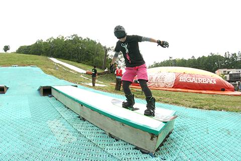 高原でのアウトドア&ジブの練習に最適|HAKUBAVALLEY 鹿島槍スキー場のクチコミ画像