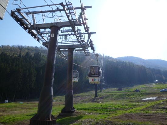 ゴールデンウィークの野沢温泉スキー場 野沢温泉スキー場のクチコミ画像