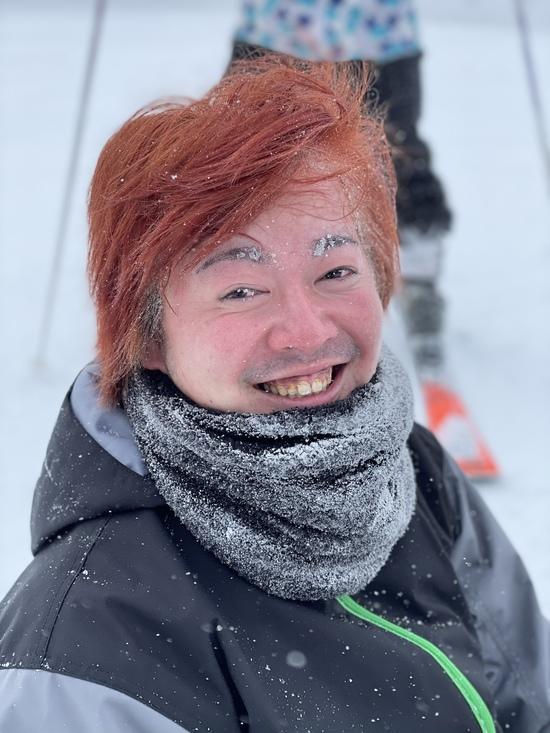 凍っちゃったでやんす♪|ハンターマウンテン塩原のクチコミ画像