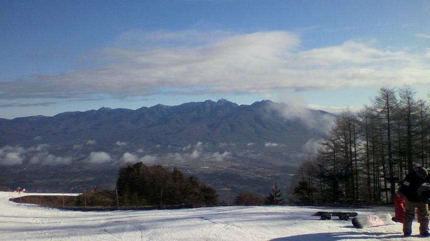 雪は少ない|富士見パノラマリゾートのクチコミ画像