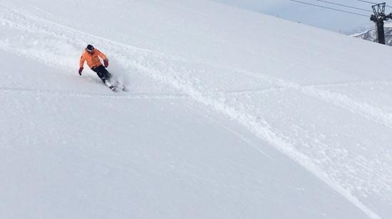 筍山、朝一|苗場スキー場のクチコミ画像