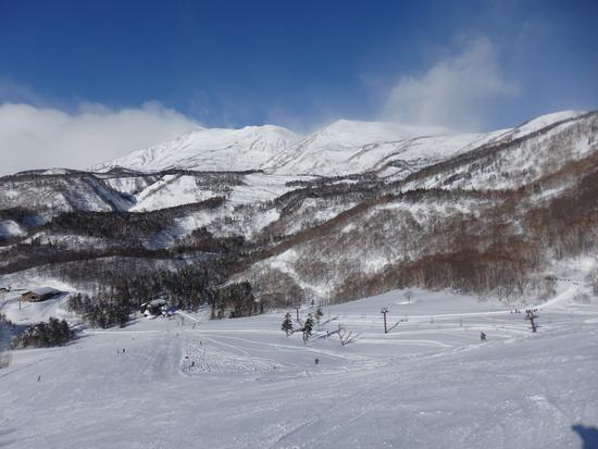 パウダーと柔らか目の圧雪|栂池高原スキー場のクチコミ画像