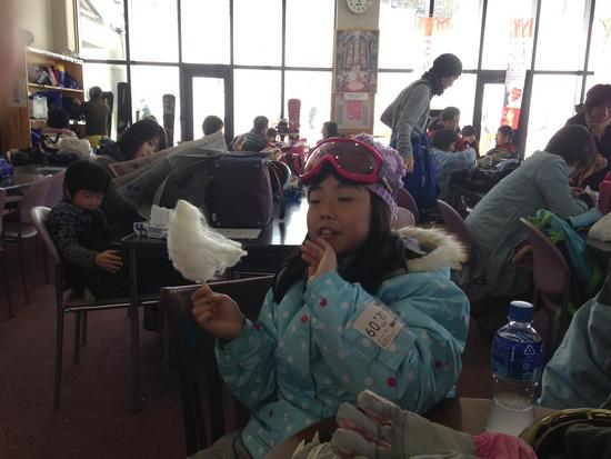 綿菓子最高〜 八千穂高原スキー場のクチコミ画像