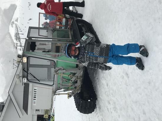 子供の練習にぴったり!|岩原スキー場のクチコミ画像