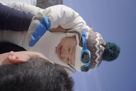 パパも、雪も、最高!! たんばらスキーパークのクチコミ画像