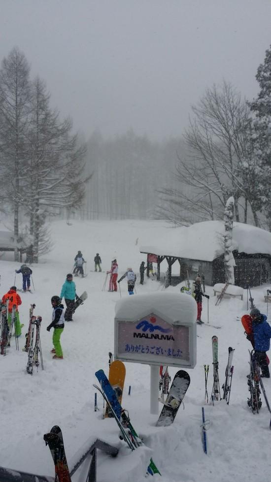 吹雪の一日|丸沼高原スキー場のクチコミ画像