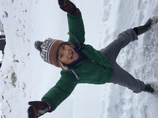 息子初スノボデビュー|スキージャム勝山のクチコミ画像3