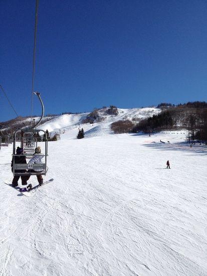 初心者でもゆったりと(^^)|しらかば2in1スキー場のクチコミ画像