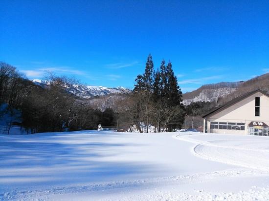 新雪たっぷり…そしてピーカン 水上宝台樹スキー場のクチコミ画像2