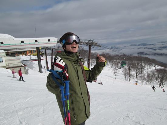 春スキーの予感