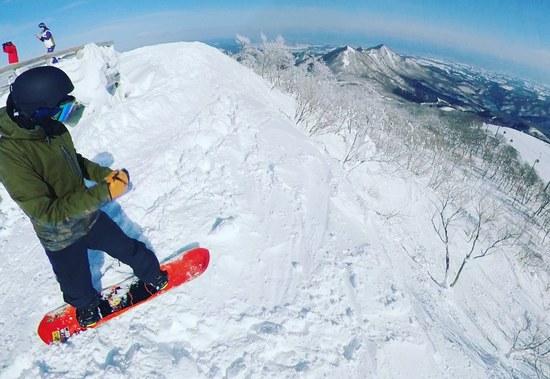 景色最高!!|夏油高原スキー場のクチコミ画像