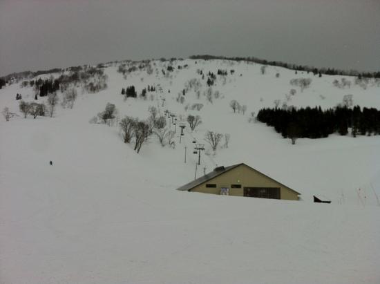 積雪豪快!|シャルマン火打スキー場のクチコミ画像