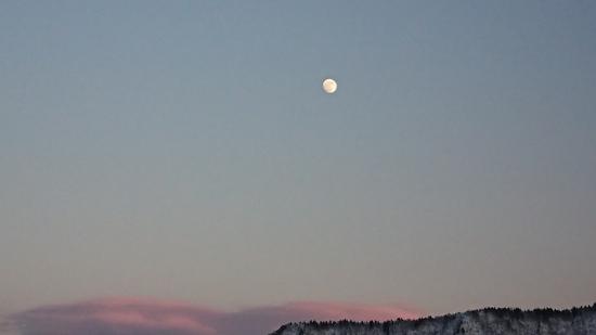 初滑りでスーパームーンイブ|石打丸山スキー場のクチコミ画像