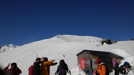 スキー9割、シニア元気|白馬八方尾根スキー場のクチコミ画像1