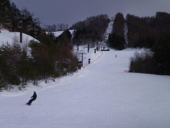 一枚バーンの滑りやすいゲレンデ|信州松本 野麦峠スキー場のクチコミ画像