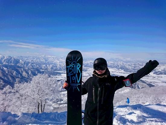 ピーカン!|六日町八海山スキー場のクチコミ画像