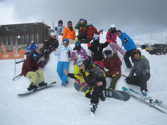 雪良し・天気良し・岩岳感謝祭最高!ハプニングも連発! 白馬岩岳スノーフィールドのクチコミ画像3
