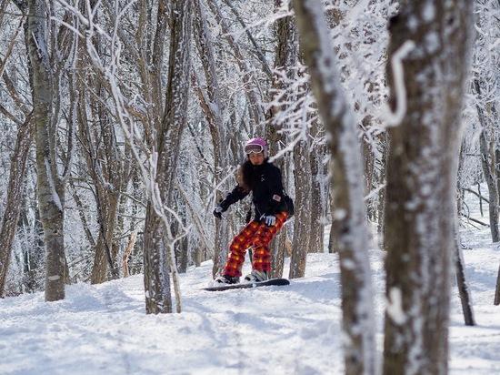 非圧雪林間コース最高!|斑尾高原スキー場のクチコミ画像1