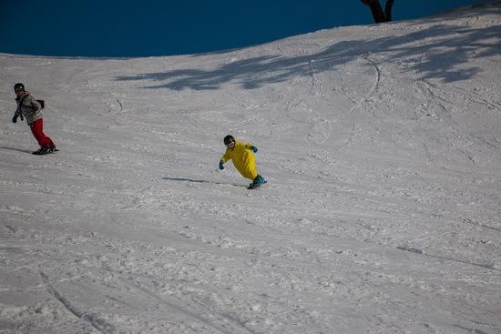 非圧雪林間コース最高!|斑尾高原スキー場のクチコミ画像2