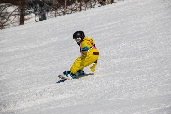非圧雪林間コース最高!|斑尾高原スキー場のクチコミ画像3