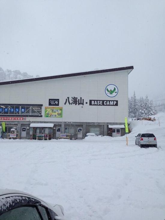 積雪400cm|六日町八海山スキー場のクチコミ画像
