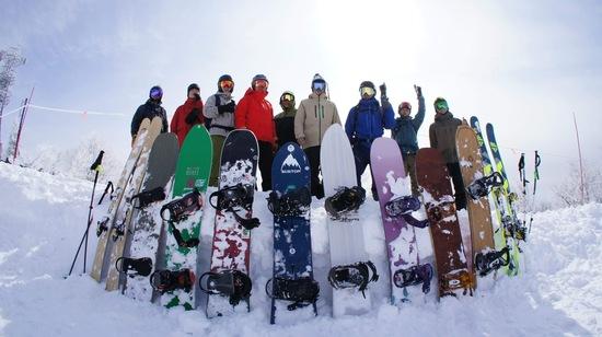 全員集合! 野沢温泉スキー場のクチコミ画像