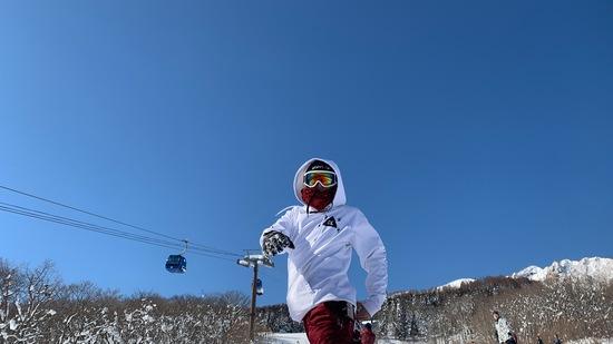 最高の天候と最高の雪質|妙高杉ノ原スキー場のクチコミ画像
