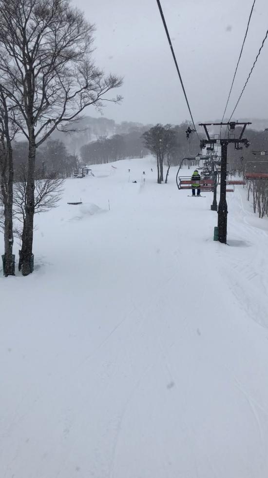 今シーズン2回目のたんばら!|たんばらスキーパークのクチコミ画像