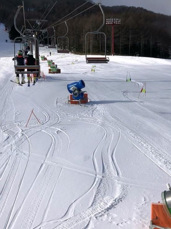 天然雪も降りました エコーバレースキー場のクチコミ画像