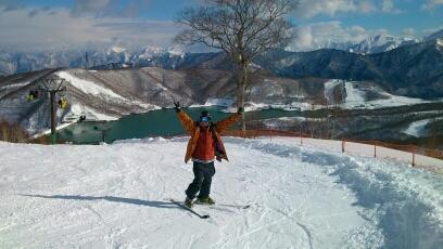 まずまずの初すべり|かぐらスキー場のクチコミ画像