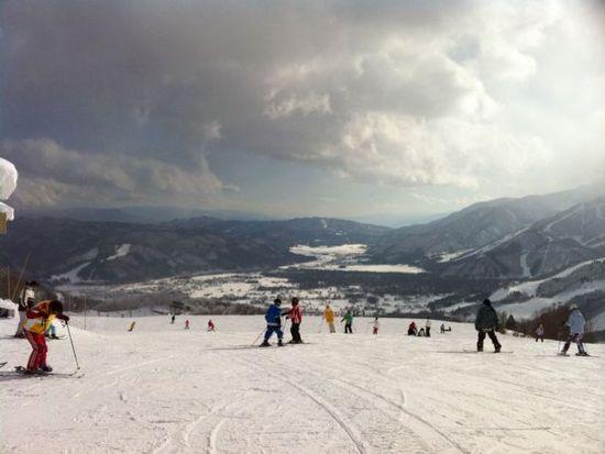 白馬岩岳スキー場 ゲレンデレポート 1月7日|白馬岩岳スノーフィールドのクチコミ画像