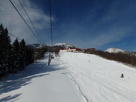 雪不足も関係なし|赤倉観光リゾートスキー場のクチコミ画像