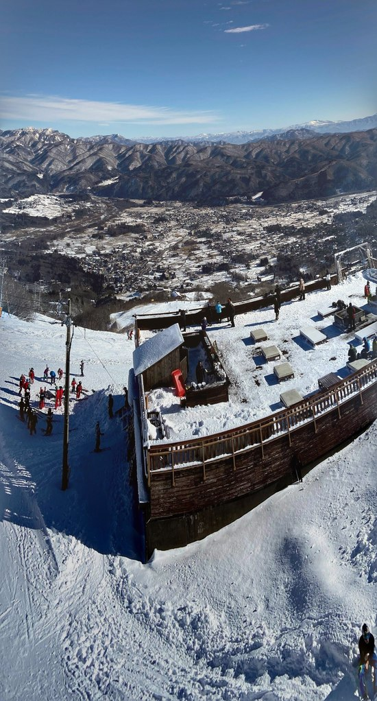 暖冬・外国?|白馬八方尾根スキー場のクチコミ画像
