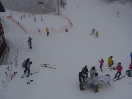 雨の日の大会|信州松本 野麦峠スキー場のクチコミ画像