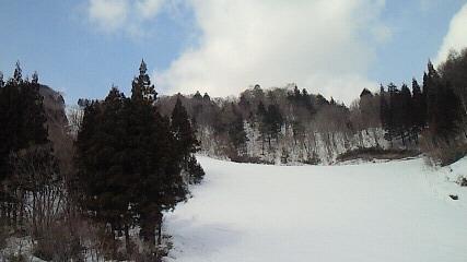 水墨画のような景色|めいほうスキー場のクチコミ画像