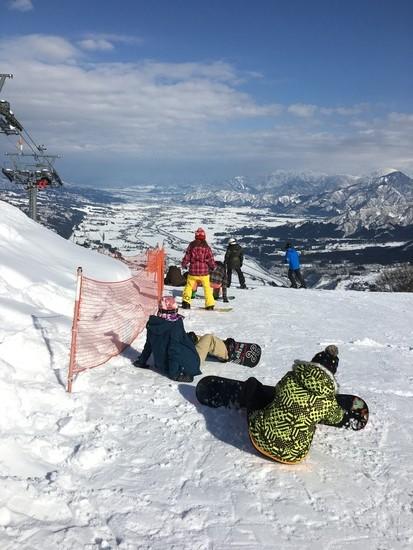 滑っていて気持ちがいい|石打丸山スキー場のクチコミ画像