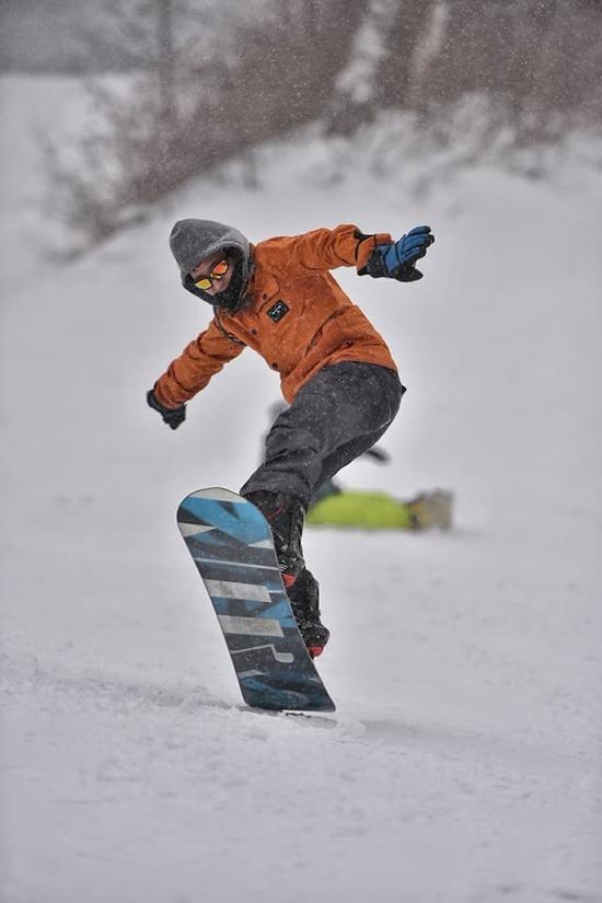 最高の雪質|ハチ・ハチ北スキー場のクチコミ画像3