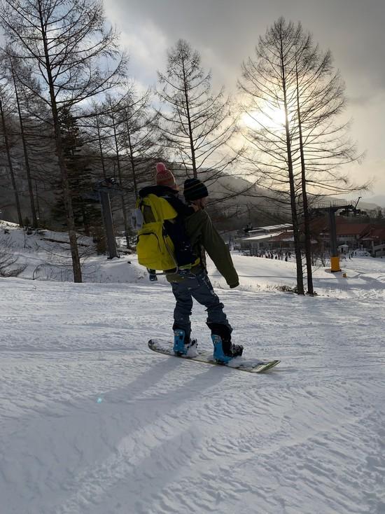 暖冬にしては雪質良かったです|丸沼高原スキー場のクチコミ画像