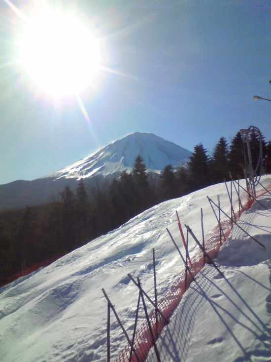 富士山の眺めが良い|ふじてんスノーリゾートのクチコミ画像
