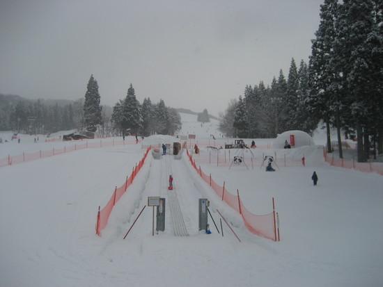 1歳と4歳のこども連れ家族スキー|鷲ヶ岳スキー場のクチコミ画像