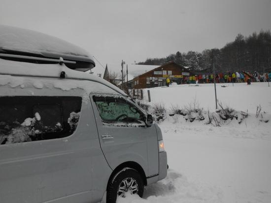 雪がないの!|志賀高原 熊の湯スキー場のクチコミ画像