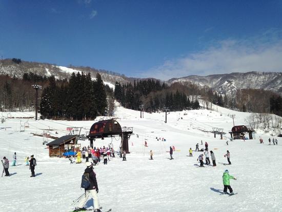なんとか滑れます。|さかえ倶楽部スキー場のクチコミ画像