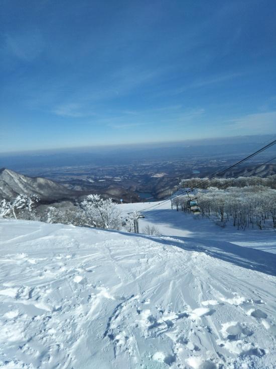 快晴 無風 最高!|夏油高原スキー場のクチコミ画像