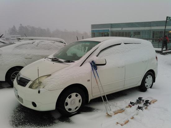 固いバーンに粉雪が載っている Ontake2240のクチコミ画像3